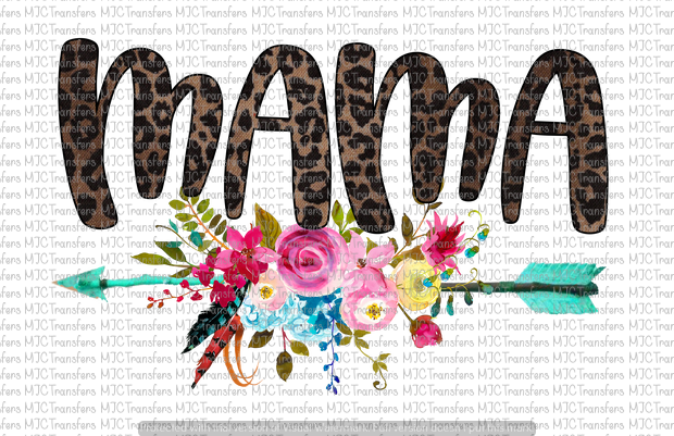 FLORAL MAMA (SUBLIMATION)