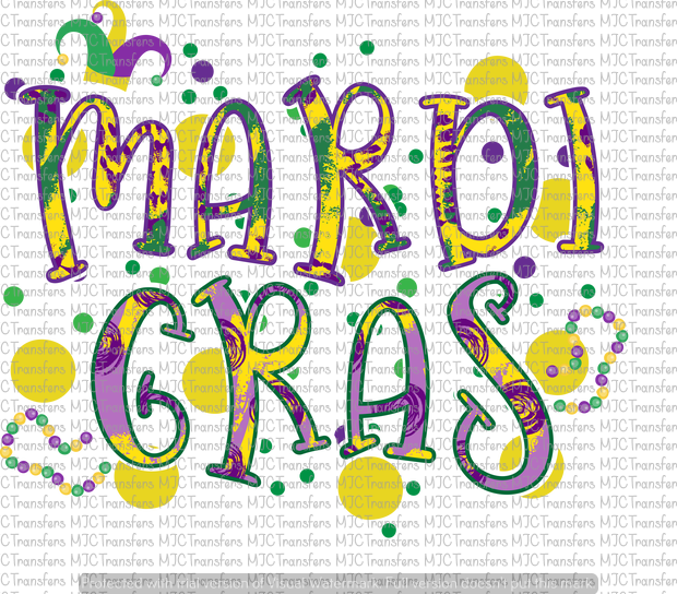 MARDI GRAS (SUBLIMATION)