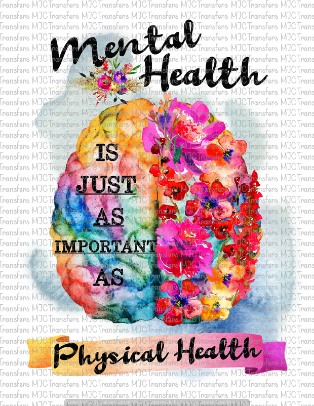 MENTAL HEALTH (SUBLIMATION)
