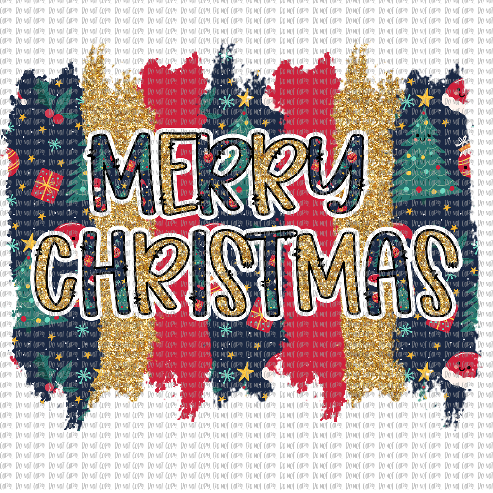 MERRY CHRISTMAS (SUBLIMATION)