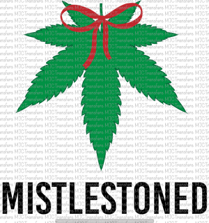 MISTLESTONED (SUBLIMATION)
