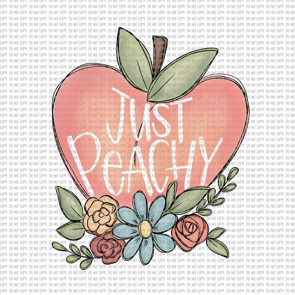 JUST PEACHY (SUBLIMATION)