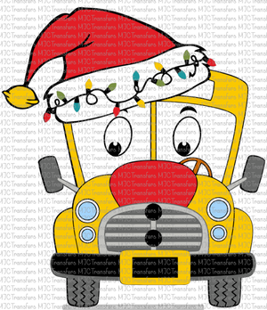 SCHOOL BUS WITH LIGHTS (SUBLIMATION)