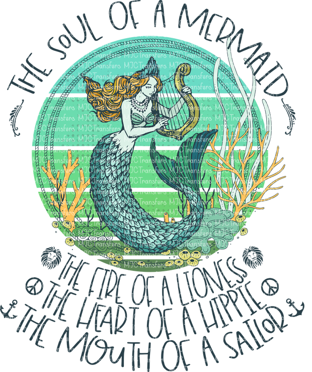 THE SOUL OF A MERMAID (SUBLIMATION)