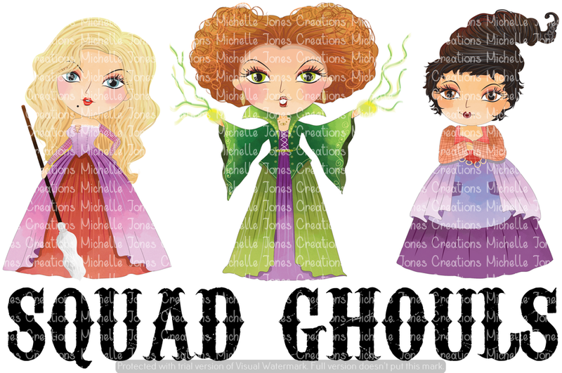 SQUAD GHOULS (SUBLIMATION)