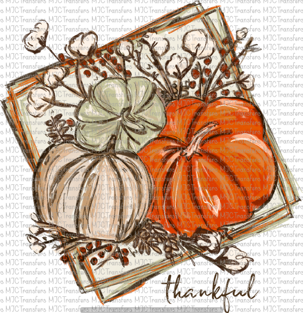 THANKFUL PUMPKINS (SUBLIMATION)