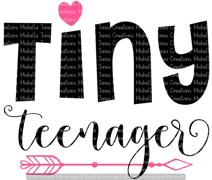 TINY TEENAGER (SUBLIMATION)