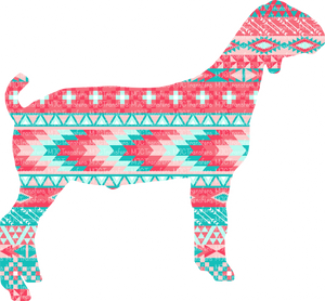 TRIBAL GOAT (SUBLIMATION)