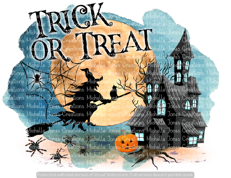 TRICK OR TREAT (SUBLIMATION)