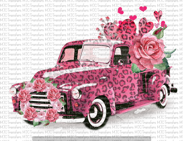 VALENTINES LEOPARD TRUCK (SUBLIMATION)
