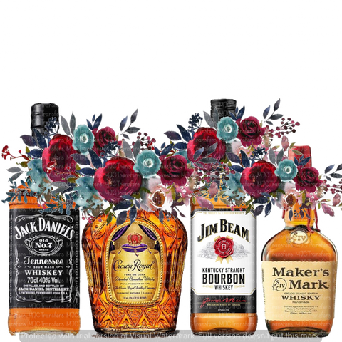 WHISKEY BOTTLES (SUBLIMATION)