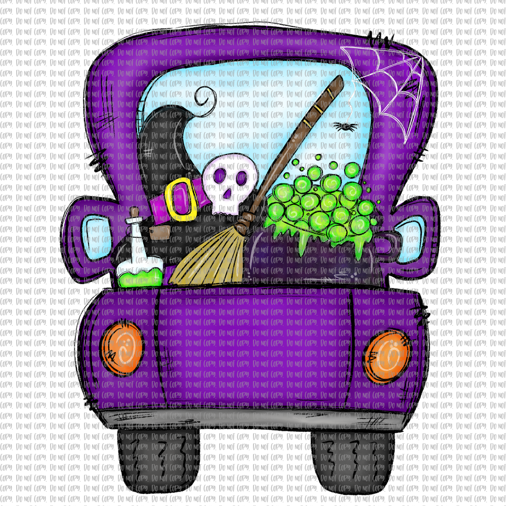 WITCH TRUCK (SUBLIMATION)