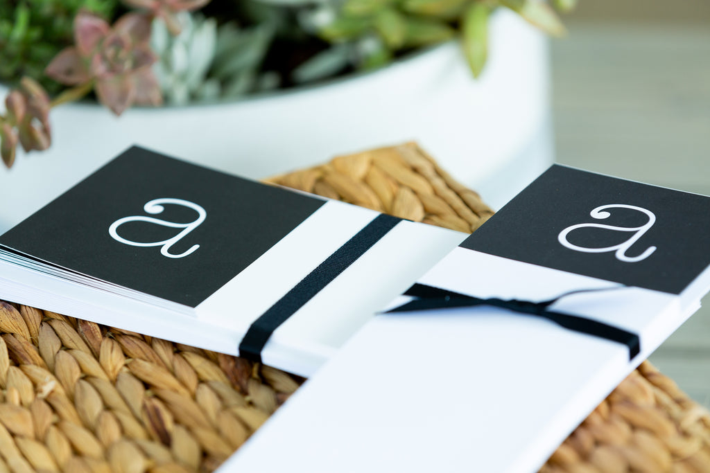 West Side Note Card and Note Pad Combo