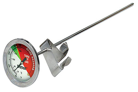 S - Stainless Steel Thermometer 12""
