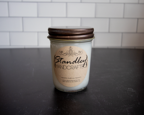 d - Cinnamon - 8oz rustic jar