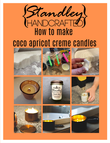 How to make coco apricot creme candles e-book