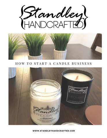 How to start a candle business e-book