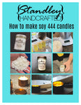 How to make soy 444 candles e-book