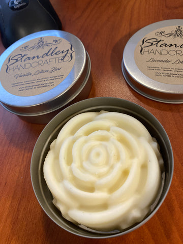 Lotion bar - lavender