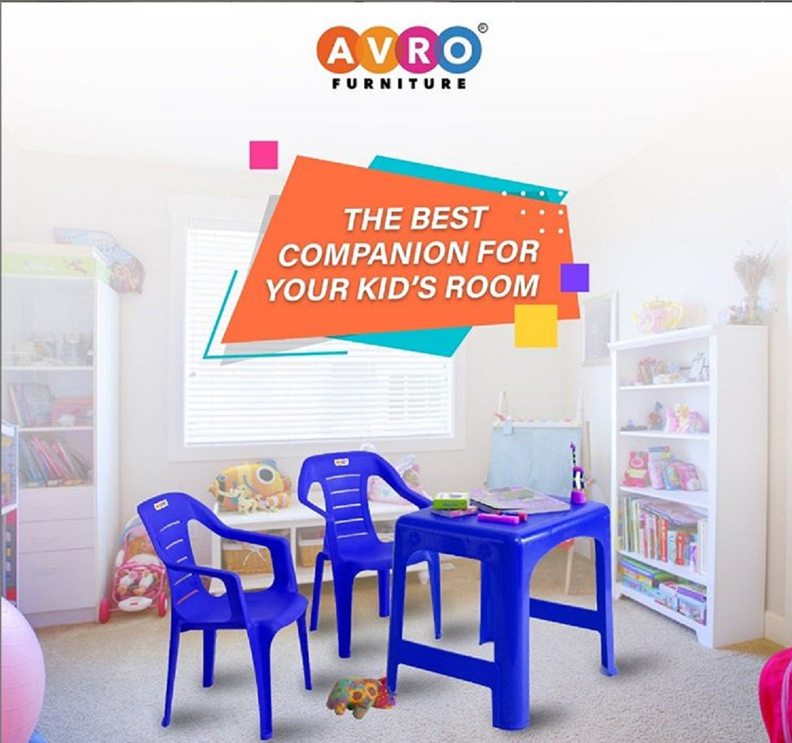 Choose The Best Furniture For Your Kids With Avro Plastic