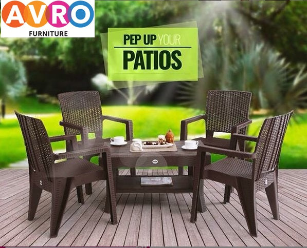 Flaunt Your Garden With The Best Plastic Furniture Ideas