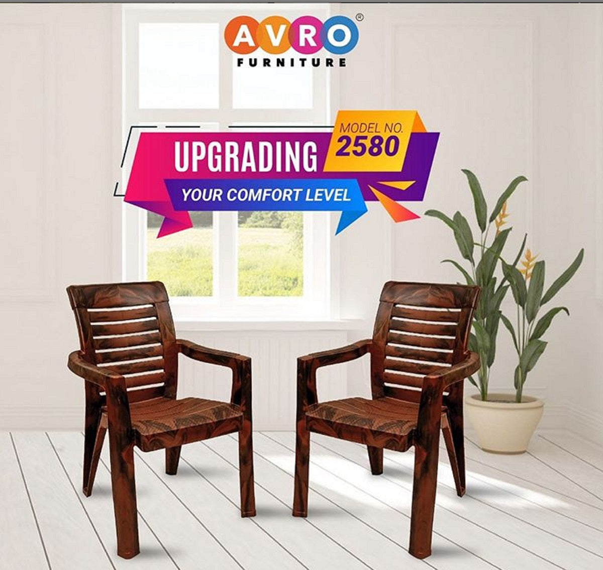 Embrace Your Balcony With Avro Plastic Furniture
