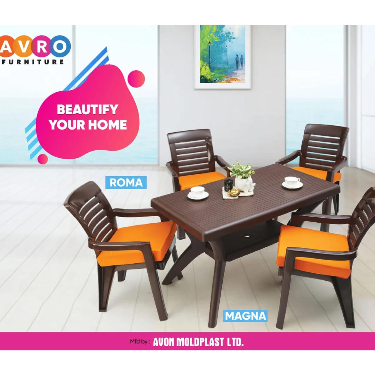Add elegance to your house with Avro Furniture