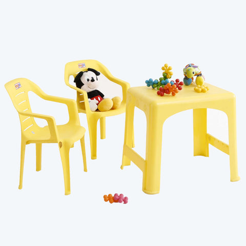 1 Baby Table + 2 Baby Chairs