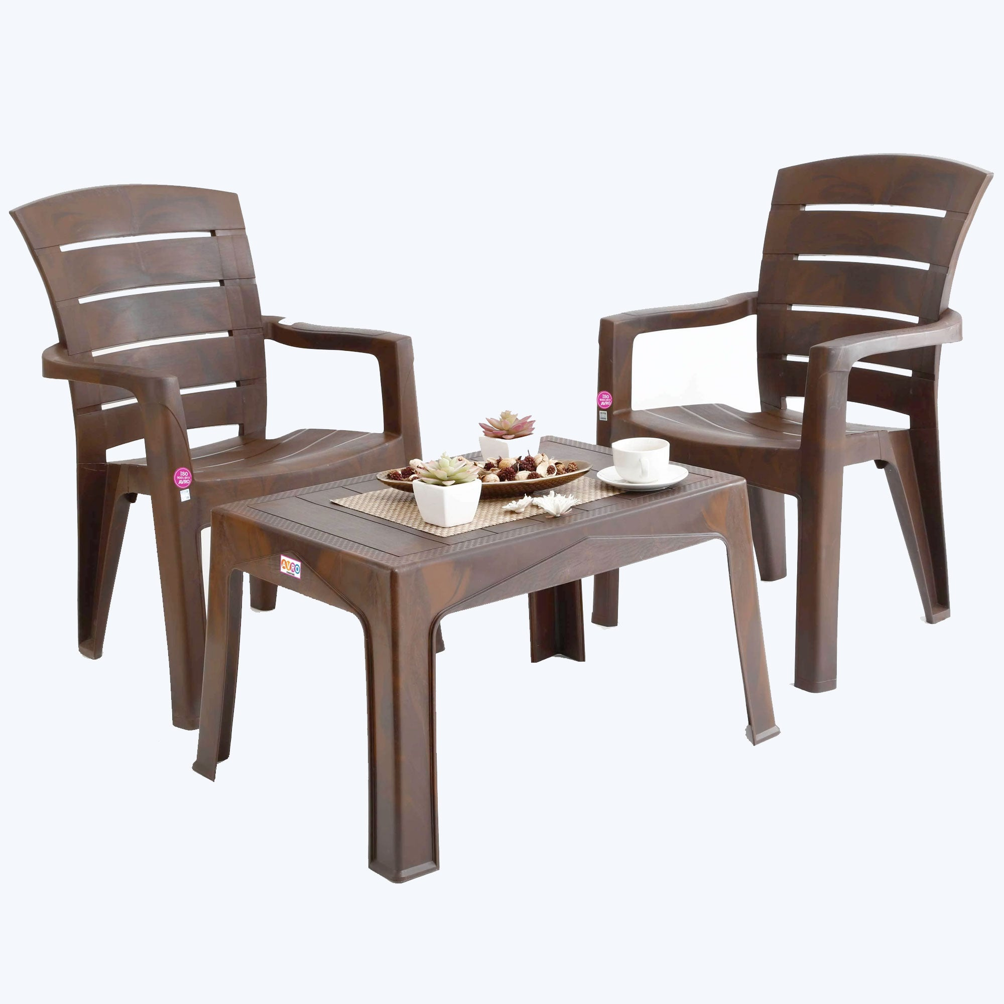 plastic table and chairs for garden