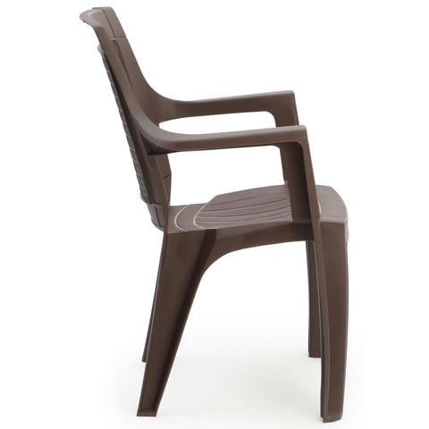 Chair - 7756 Matt And Gloss Chair (Set Of 2 Chairs)
