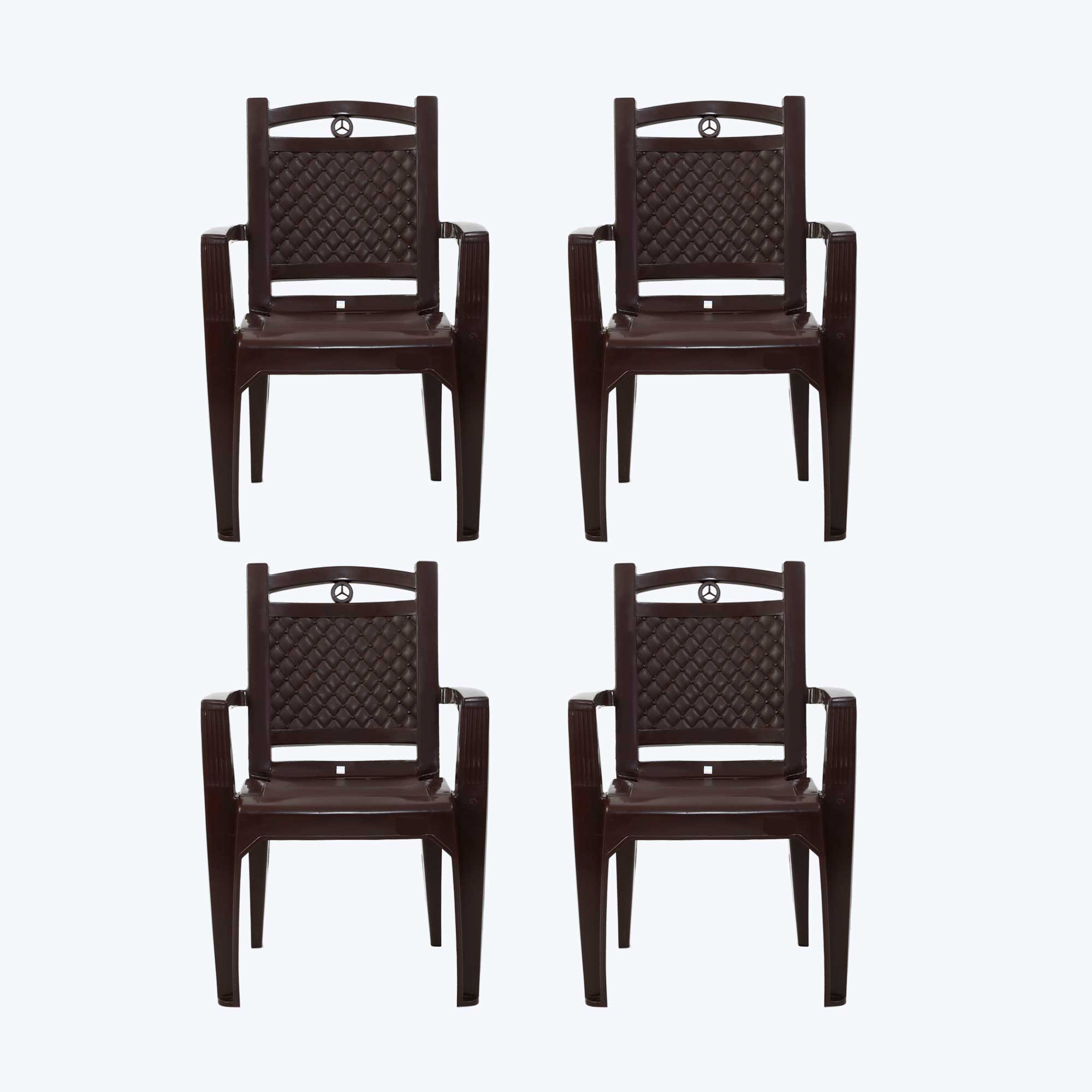 Heavy plastic chairs
