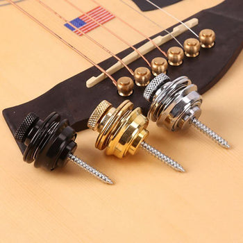 Bouton de courroie pour sangle de guitare