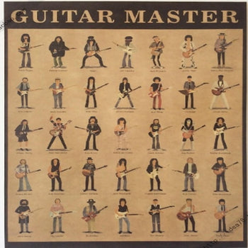 Poster des plus grands guitaristes -