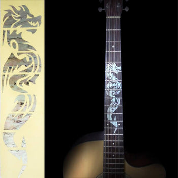 Sticker pour manche de guitare - Dragon