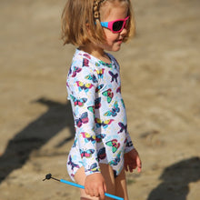 Load image into Gallery viewer, Long sleeve UPF50+ Surfsuit 'Summertime'