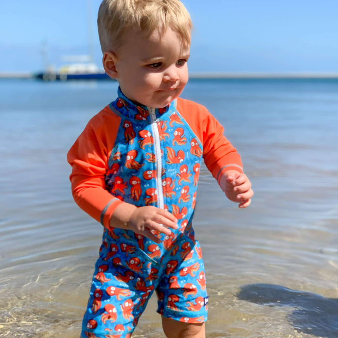 Adventure Sunsuit | 'O' is for Octopus
