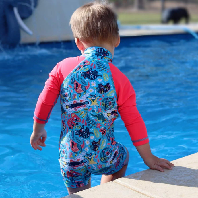 Adventure Sunsuit | Bush Wonderland