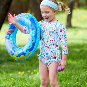 NEW! Nappy-change Swimsuit | Ditsy Daisy