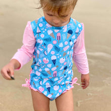 Load image into Gallery viewer, Nappy-change Swimsuit | Sundae