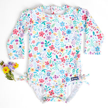 Load image into Gallery viewer, NEW! Nappy-change Swimsuit | Ditsy Daisy