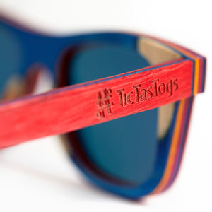 Sunglasses | Rad Red
