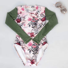Load image into Gallery viewer, NEW! Long Sleeve UPF50+ Surfsuit 'Floriade'