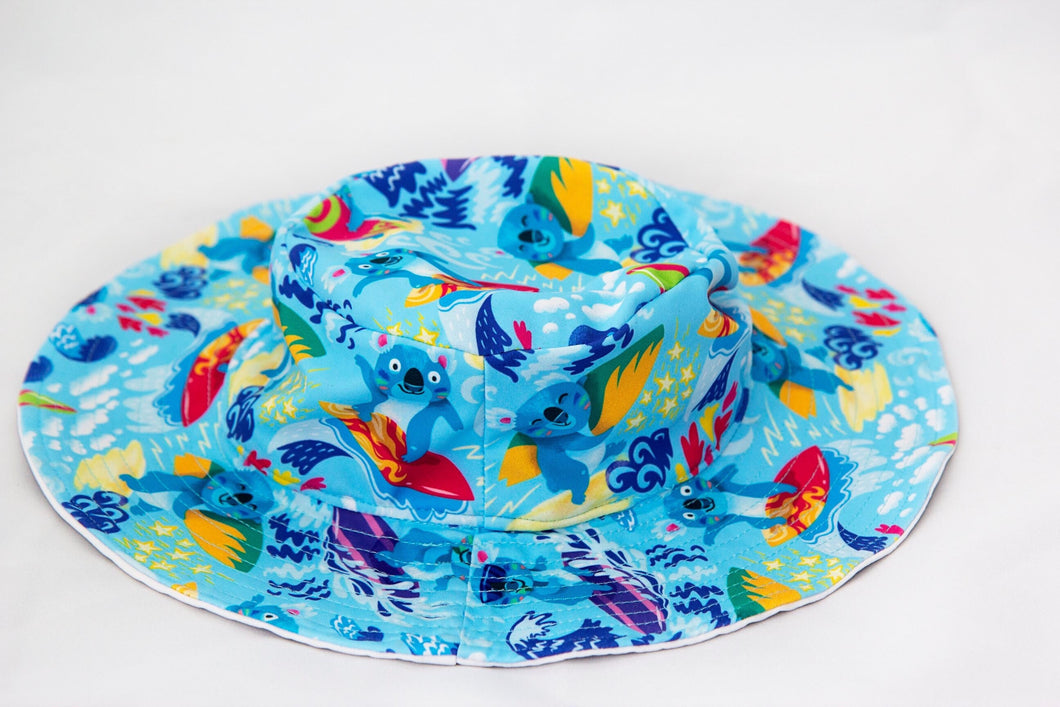 NEW! Sun Hat 'Kool Koalas'