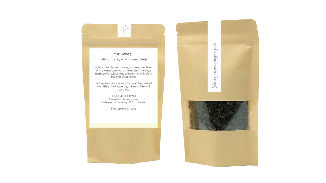 Flow caffeinated loose leaf tea milk oolong tea benefits oolong tea UAE