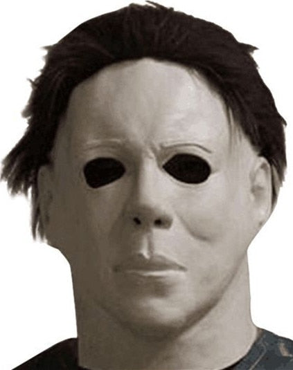 Michael Myers Mask Halloween Mascaras De Latex Realista Mascara Cosplay Scary Masks Masquerade Masque Korku Maskesi Party Maski