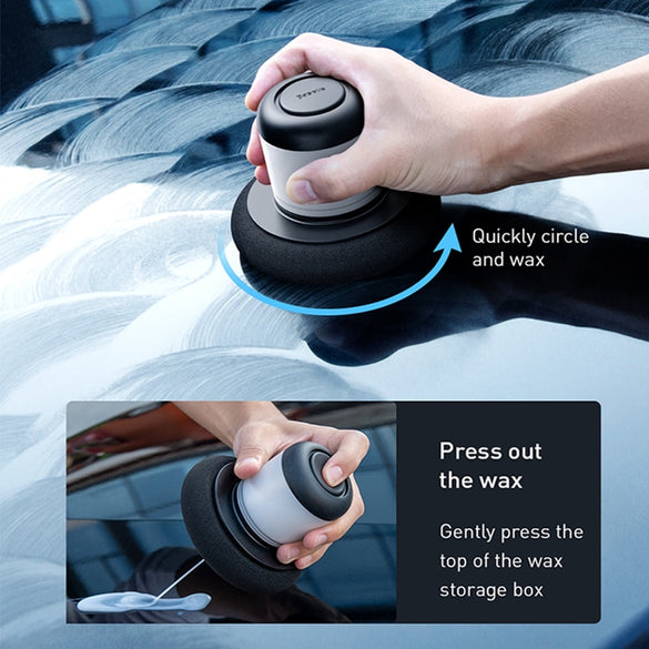 Baseus Car Polisher Scratch Repair Auto Manual Polishing Machine With 100ml Wax For Car Paint Care Clean Waxing Tool Accessories