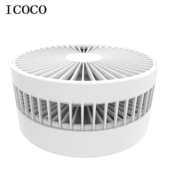 New folding telescopic mini fan USB rechargeable student portable small electric dormitory bed office desktop large wind battery