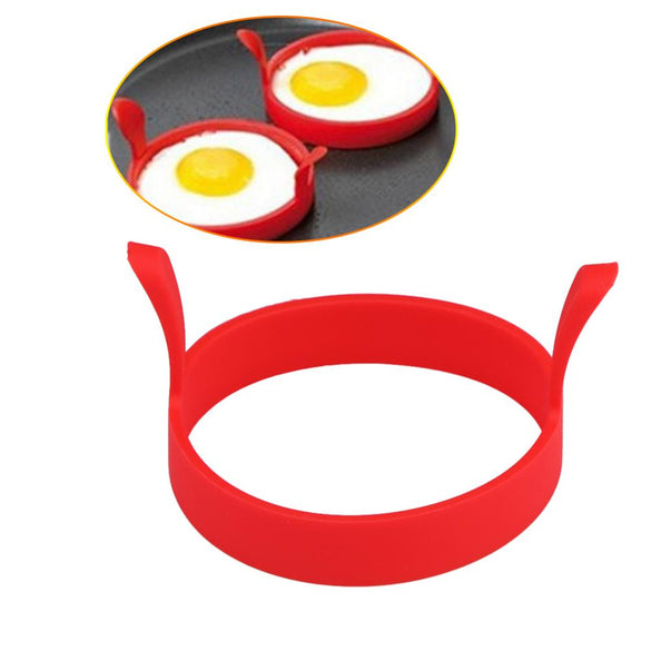 Nonstick Pancake Maker Egg Ring Silicone Kitchen Pancake Mold Egg Cooking Tool With 7 Holes Eggs Mold Kitchen Baking Accessories