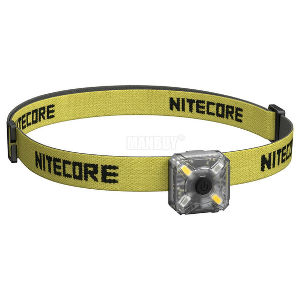 Sale NITECORE NU05 KIT 35 Lumen White/Red Light High Performance 4LED Lightweight USB Rechargeable Outdoor Cycling Headlamp Mate