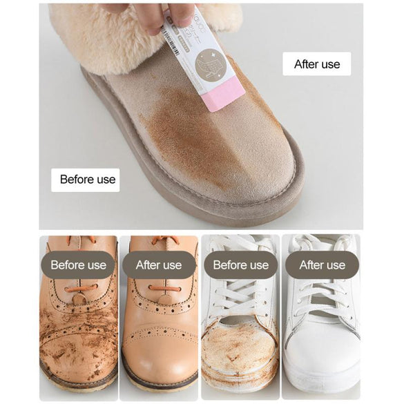 1PC Cleaning Eraser Suede Sheepskin Matte Leather And Leather Fabric Care Shoes Care Leather Cleaner White Shoe Sneakers Care